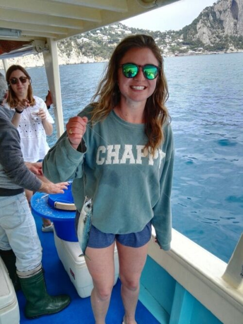 Capri fishing tour