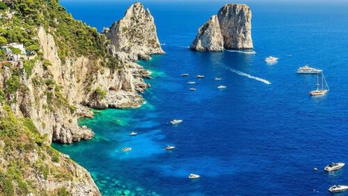 Discover Capri from Sorrento