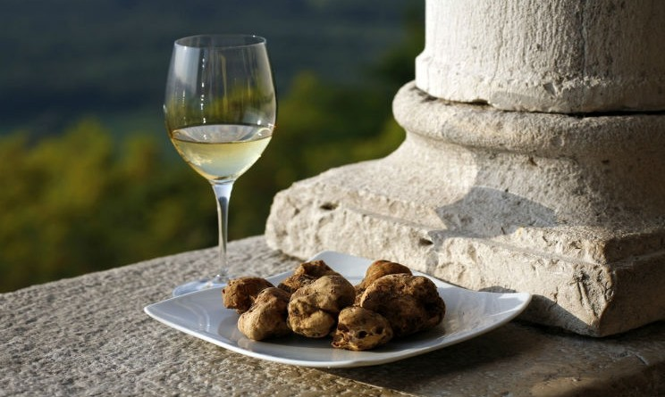 Truffles, wine and cheese tour